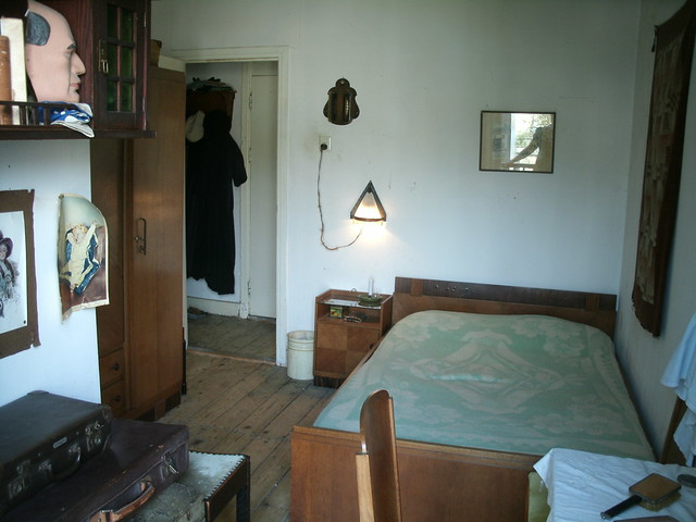 The new bedroom in the 1930s house