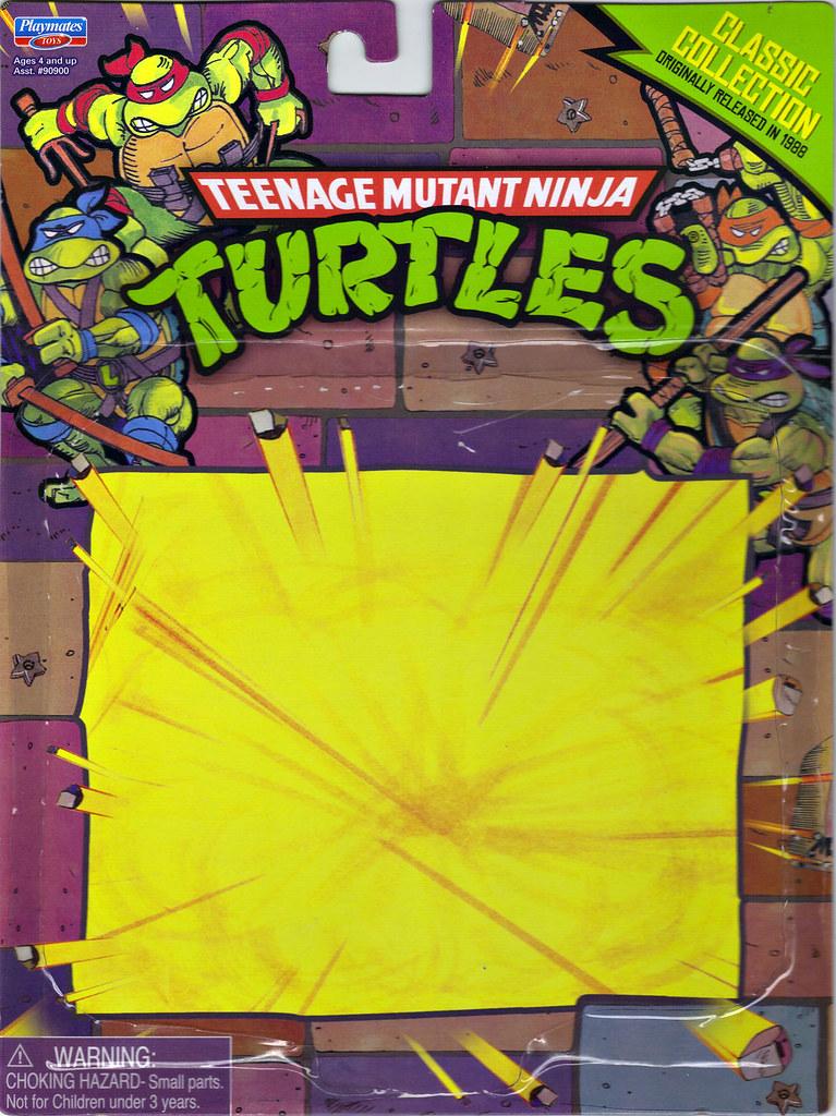 TEENAGE MUTANT NINJA TURTLES - CLASSIC COLLECTION :: 'RETRO' SPLINTER ..card backer i (( 2013 )) by tOkKa