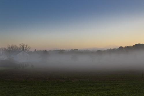 fog sunrise canon day t3i 600d ruralohio