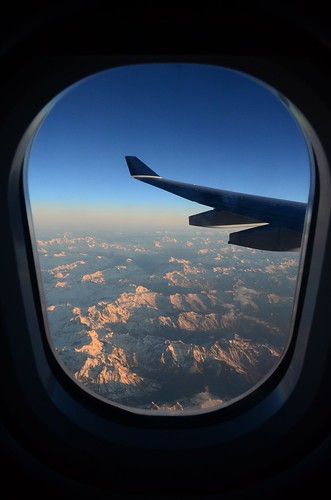 italy mountain alps sunrise airplane italia airbus usairways