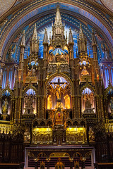 The Altar - Notre Dame Basilica, Montreal