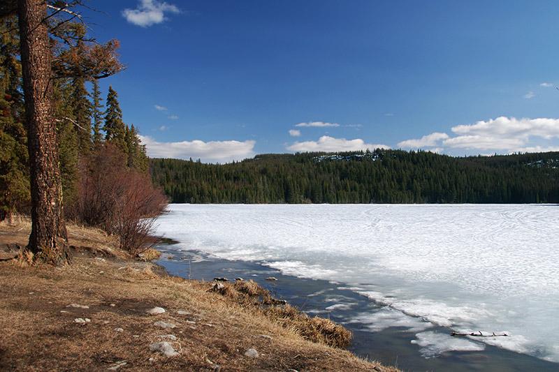 McConnell Lake Park, Kamloops, Thompson Nicola, British Columbia, Canada