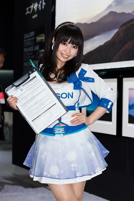 EPSON -CP+ 2014 Show Girl (Yokohama, Kanagawa, Japan)