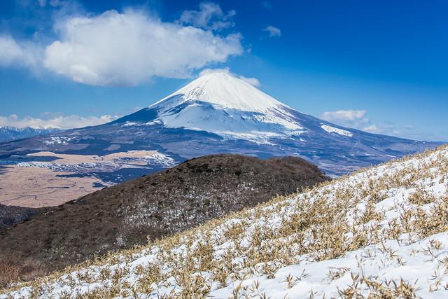 Mt. Fuji with Snow 冬の富士山
