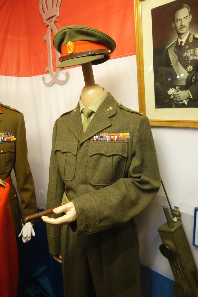 WWII British officer's uniform | Luxembourg 2015 | Thomas