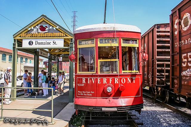 RTA 463 | Replica Perley Thomas Streetcar | New Orleans Public Belt