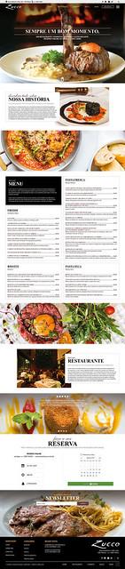Site Restaurante Zucco Jardins