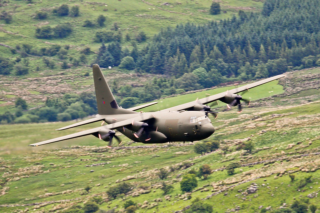 Lockheed Martin C-130J Hercules ZH889 RAF