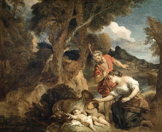 +1700 Faústulo y Larencia encuentran a Rómulo y Remo