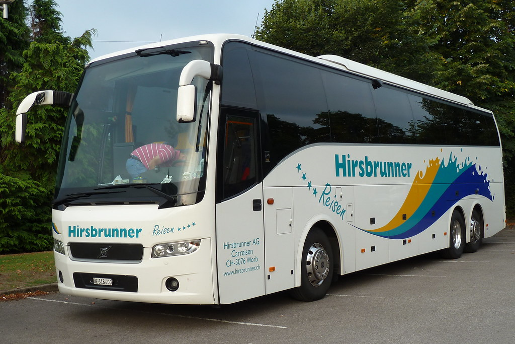 Volvo 9900 | This is the example from Switzerland  Not bad g