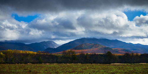 autumn trees newyork mountains color fall leaves high unitedstates adirondacks algonquin peaks lakeplacid colden