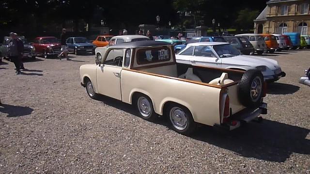 Trabant pick up 3 essieux - vidéo