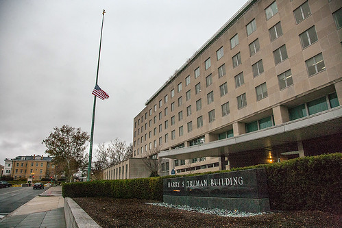 The State Department's Flag Flies at Half-Staff in Honor of Former South African President Mandela | by U.S. Department of State