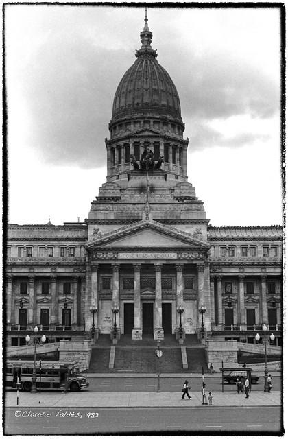 Buenos Aires, Argentina, Congreso Nacional, 1983
