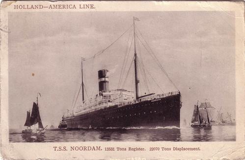 Noordam Postcard ca 1910