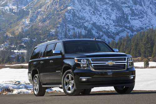 2015 Chevrolet Suburban in Black Front Passenger Side in Lake Tahoe Photo