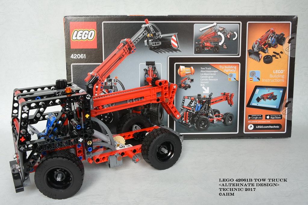 LEGO 42061B Tow Truck   LEGO 42061B Tow Truck Technic 2017 A