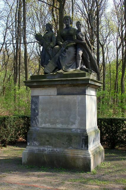 """""""Die Weichsel"""" im Berliner Tiergarten"""