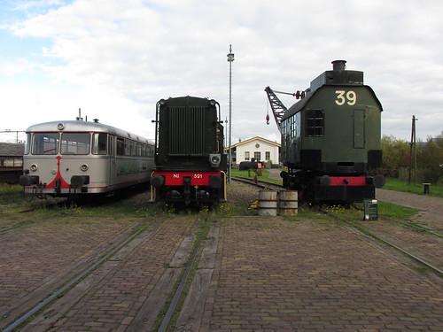 railbus, hippel 521, stoomhijskraan 39 | by TimF44