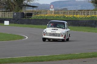 1964 Austin A40 #77 590 MOX Mike JORDAN