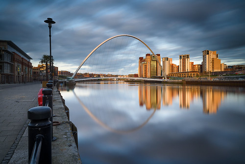 newcastle gateshead quayside river tyne millennium bridge baltic centre nikon d750 1635 leefilters big stopper stu meech