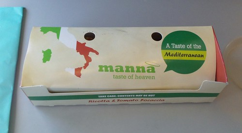 Qantas Snack - Ricotta & Tomato Focaccia