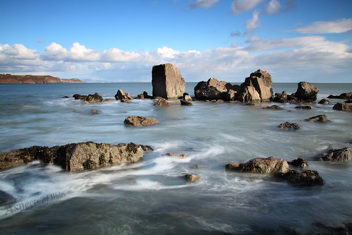 pwlldu gower wales walescoast longexposure littlestopper hightide sea swansea