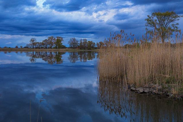 A cloudy day at the river