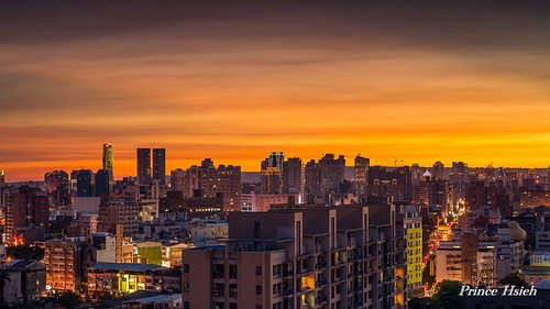 sunset taiwan 夕陽 sigma70300mm 台中市 taichungcity 夕彩 sonya850
