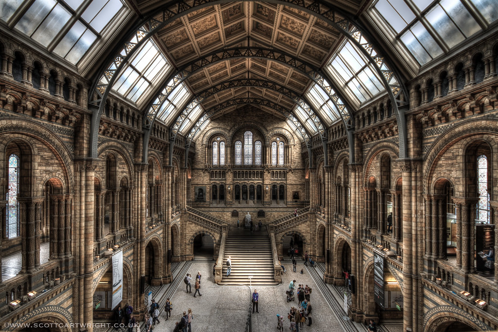 Natural History Museum London HDR