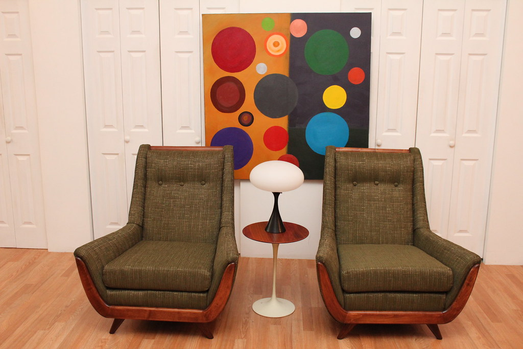 Peachy Mid Century Modern Lounge Chairs Teak Adjustable Floor La Gmtry Best Dining Table And Chair Ideas Images Gmtryco