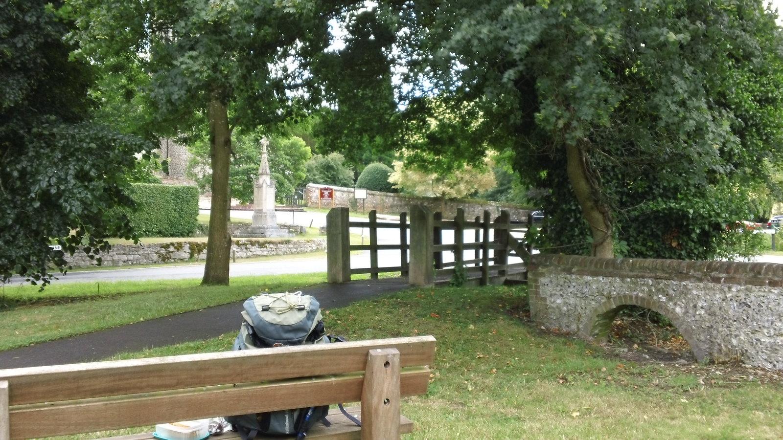 Buriton old burial ground/picnic site