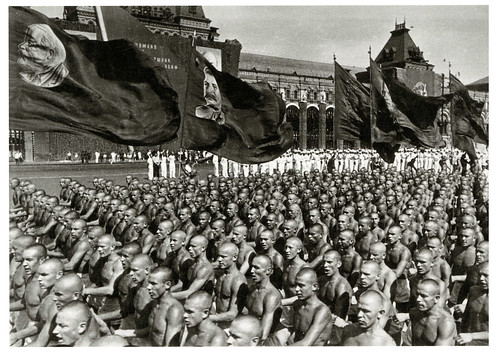 Physical Culture Parade in Red Square (1930's)