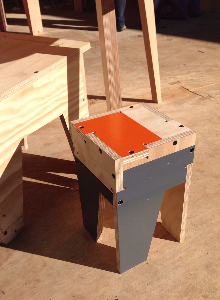 Open source furniture by Open Desk | At Maker Faire NY