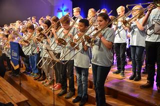 Brassbandfestivalen 2013 - Minibrassarna (Foto: Olof Forsberg)