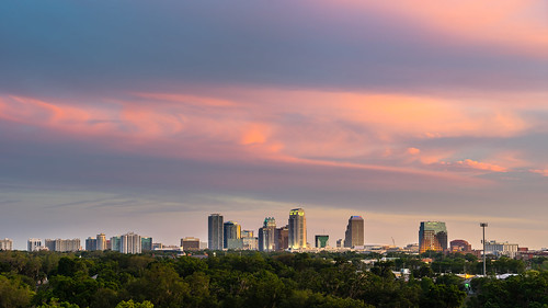 Downtown Orlando Sunset | by Jeff Krause Photography