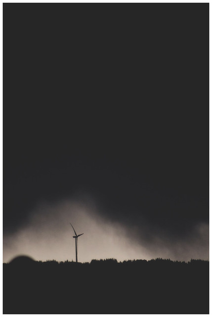 Wind Turbine - Storm, Glasgow