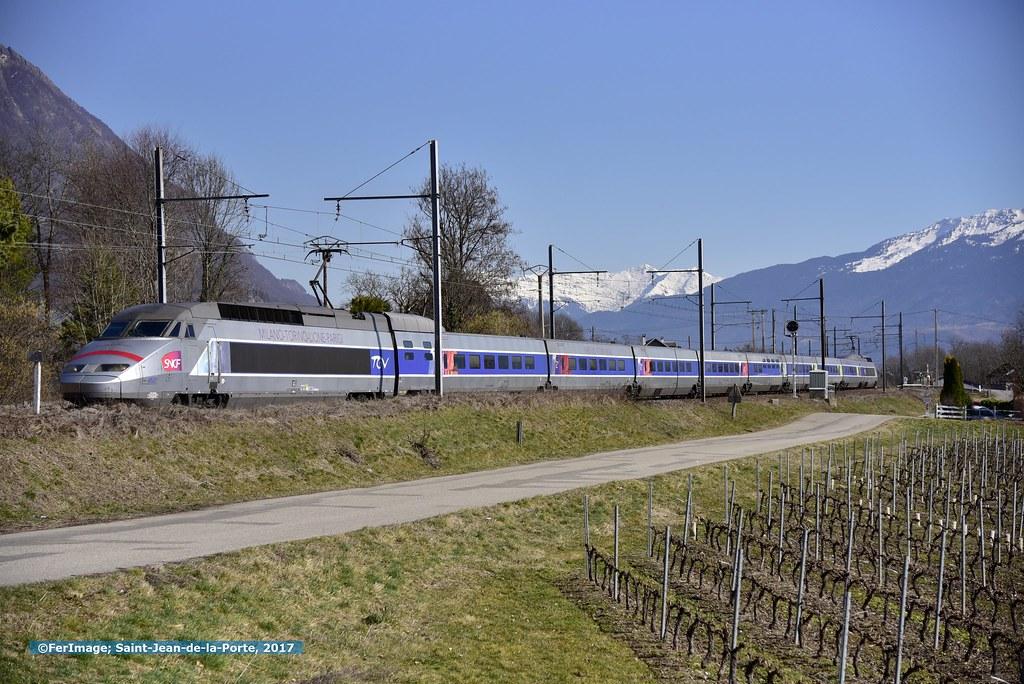 TGV-set 4502 | Milano - Paris GdL | Saint-Jean-de-la-Porte ...