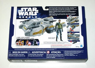Star Wars Rebels Y-Wing Bomber /& Kanan Jarrus Action Figure NEW