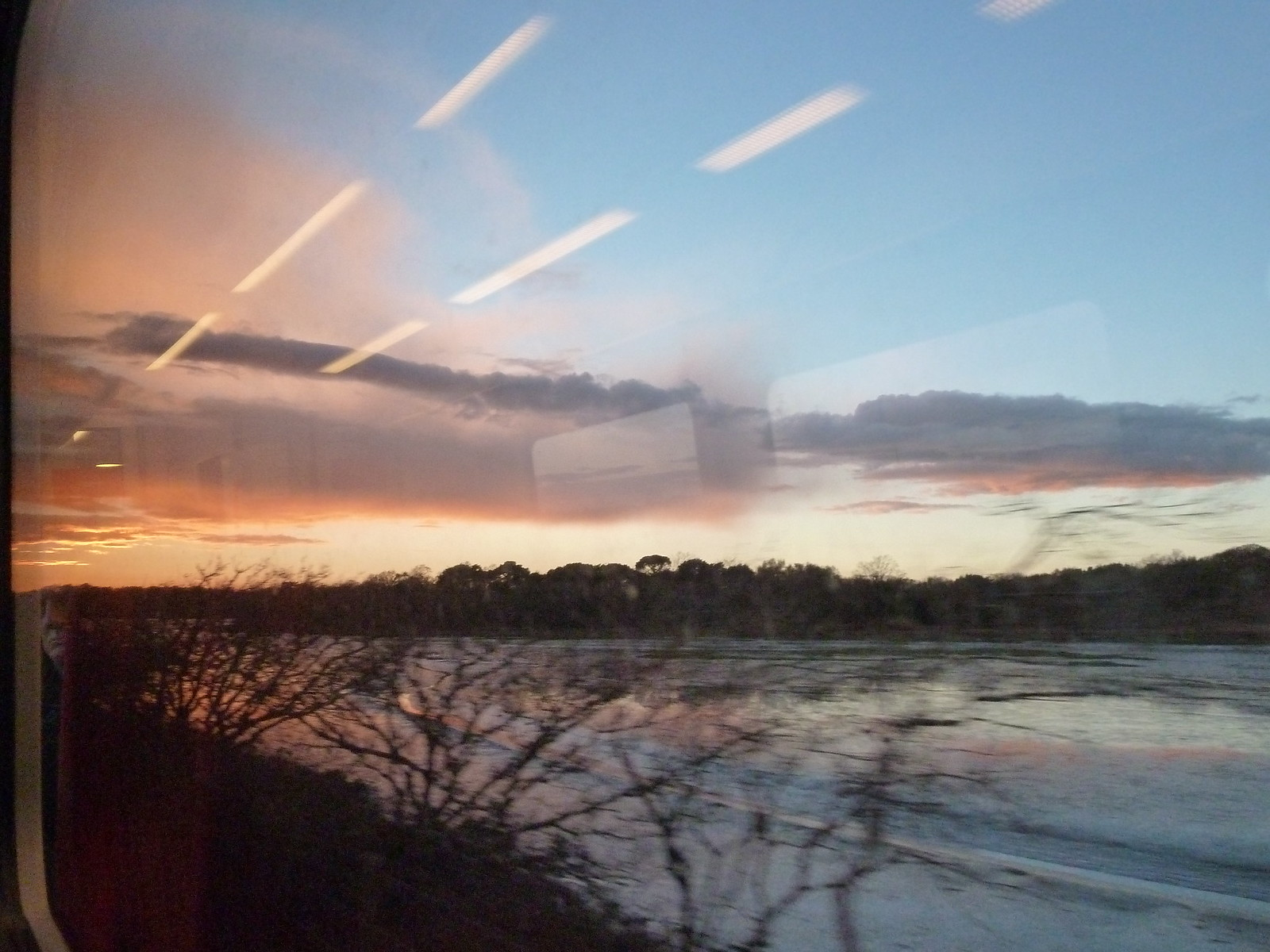 photo from walk From the train: Dorset landscape at sundown, swcwalk275.