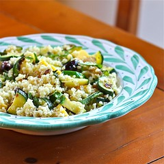 Summer Couscous with Zucchini and Mint - 600