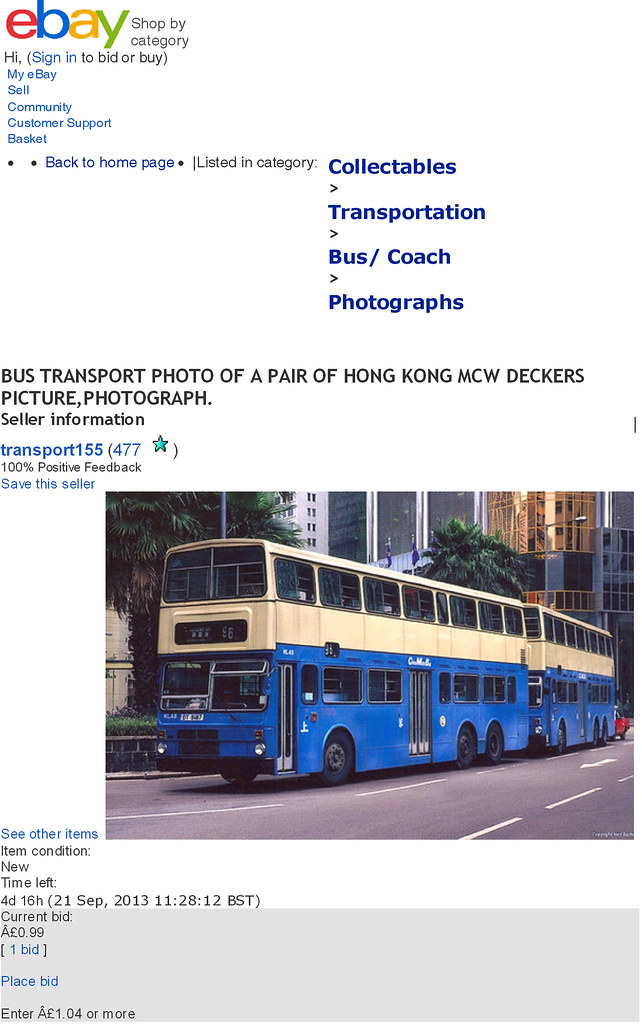 It's not just Ians-World   Regrettably ebay continues to be …   Flickr