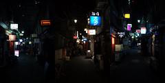 Shinjuku Golden Gai alleys