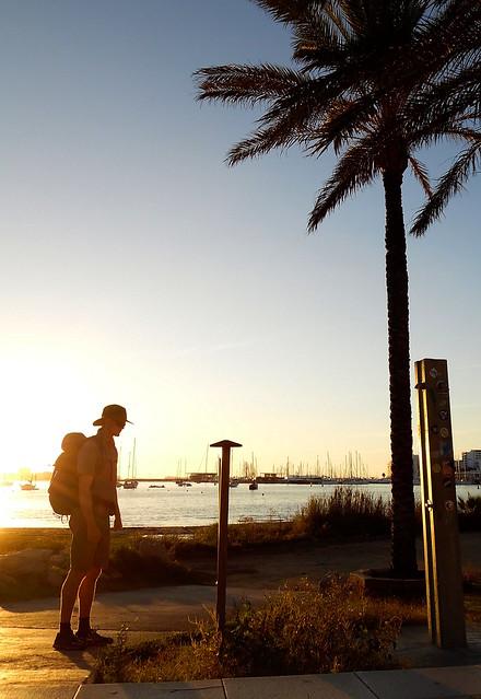 Walking Across Ibiza