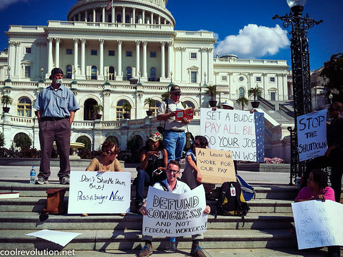 Federal Workers Protest Government Shutdown | by cool revolution