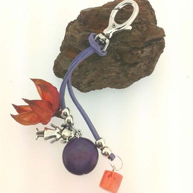 959088a037dd ... albaberrocal Colgantes para cuello y muñca y para bolsos con.piedras  semipreciosas y charms www