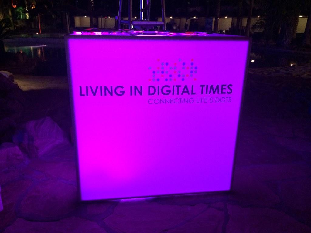 Living in Digital Times 2014 Robotics on the Runway 5