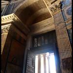 The door to Pantheon