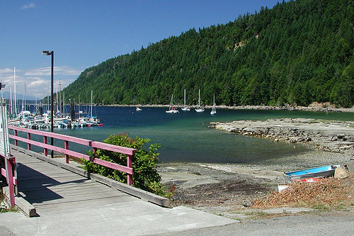 Ford Cove, Hornby Island, Gulf Islands, Georgia Strait, British Columbia, Canada