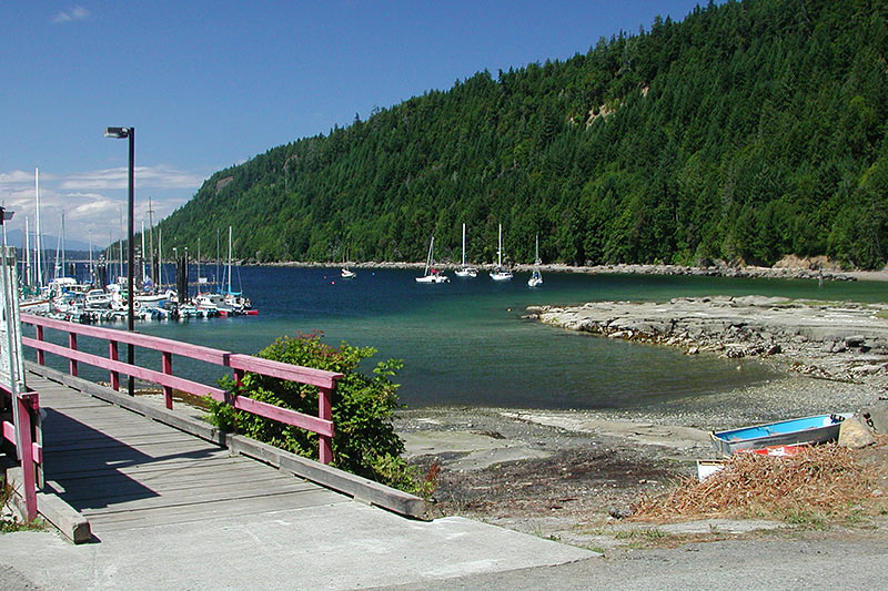 Ford Cove, Hornby Island, Gulf Islands, Georgia Strait, British Columbia, Canada